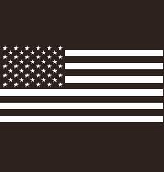 Flag united states american flag vector
