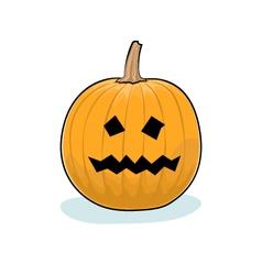 Halloween Terrible Pumpkin vector