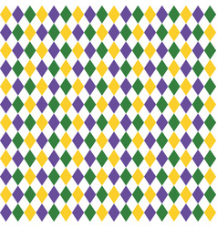 harlequin pattern background vector image