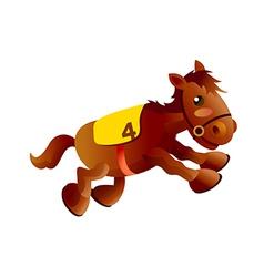 Icon horse vector