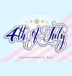memorial day card over blue background vector image