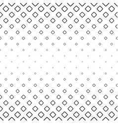 Monochrome abstract square pattern background vector