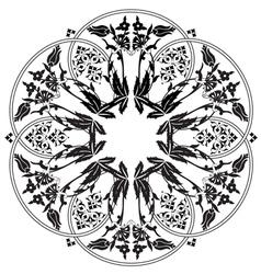 Ottoman motifs design series ninety one vector