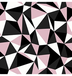 pink seamless triangle vector image