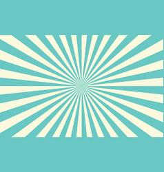 sun rays retro sunburst background vector image