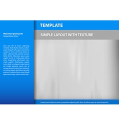 Template blue s vector