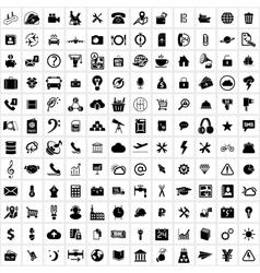 Universal web icon vector image vector image