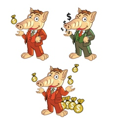 Ant Eater Cartoon vector image vector image