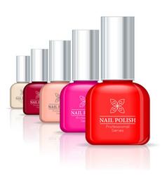 Nail Polish Professional Series vector image