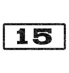 15 watermark stamp vector