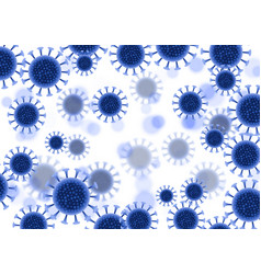 abstract virus cells background - covid19 19 globa vector image