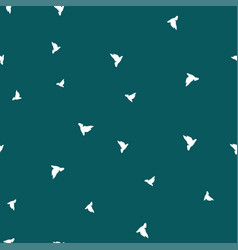 bird seamless pattern color vector image