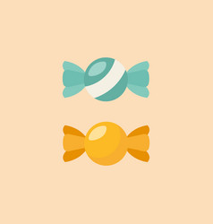 Candy flat icon vector