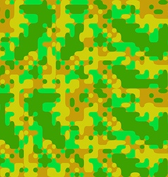 Modern pixel camouflage cartoon pattern vector