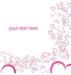 Vector valentine background vector