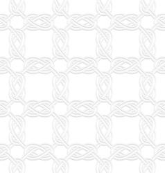 3d square interlocking ornament vector