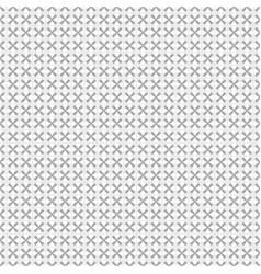 gray geometric seamless pattern vector image vector image