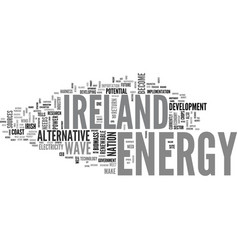 alternative energy for the home text word cloud vector image
