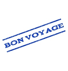 Bon Voyage Watermark Stamp vector