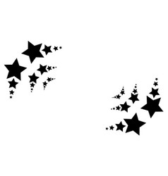 Classic star abstract backgroud style vector