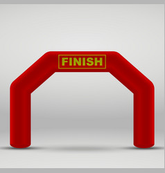 Finish arch vector