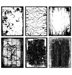 Frames and Textures vector image