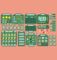 Game gui 31 vector