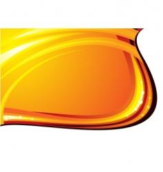 gold border vector image