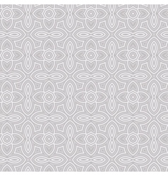 Seamless Floral Ethnic Pattern vector image