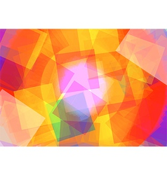 Abstract with Rectangle vector image