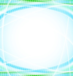 Abstract blue background for your design template vector image
