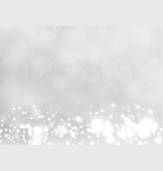 abstract white and gray blurred light background vector image