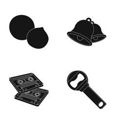 Art training and other web icon in black style vector