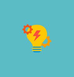 brainstorm icon flat element vector image