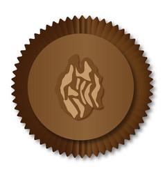 Chocolate box wallnut vector