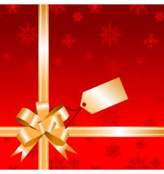 christmas wrapping for your design vector image