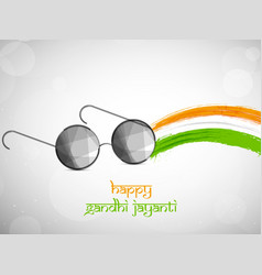 Gandhi jayanti background vector