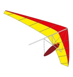 glider vector image