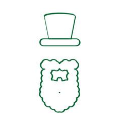 irish elf icon vector image