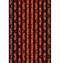 Red and gold material background vector