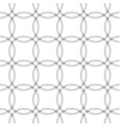 repeating geometric circle seamless pattern vector image