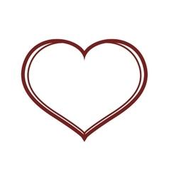 Sketch Heart icon Love design graphic vector