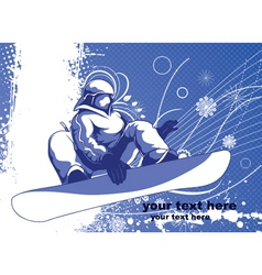 Winter sports vector