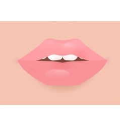 Glamour lip icon vector image vector image