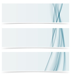 Abstract line horizontal modern header template vector image