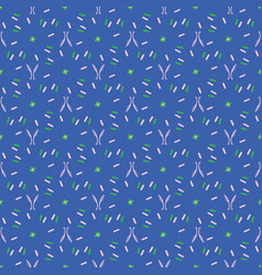Blue and green abstract dot striped grid vector