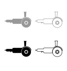 bulgarian electric circular saw angle grinder vector image