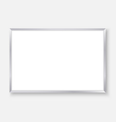 empty whiteboard vector image