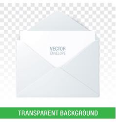 envelope on a transparent background vector image