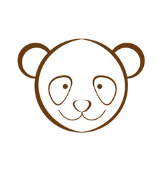 Figure bear animal head expression vector